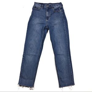 American Eagle Mom Jeans Ankle Jeans